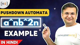 HİNTÇE OTOMATA bölümünde HESAPLAMA teorilerinin^n b^n örnek Bastırma bir Otomata-63