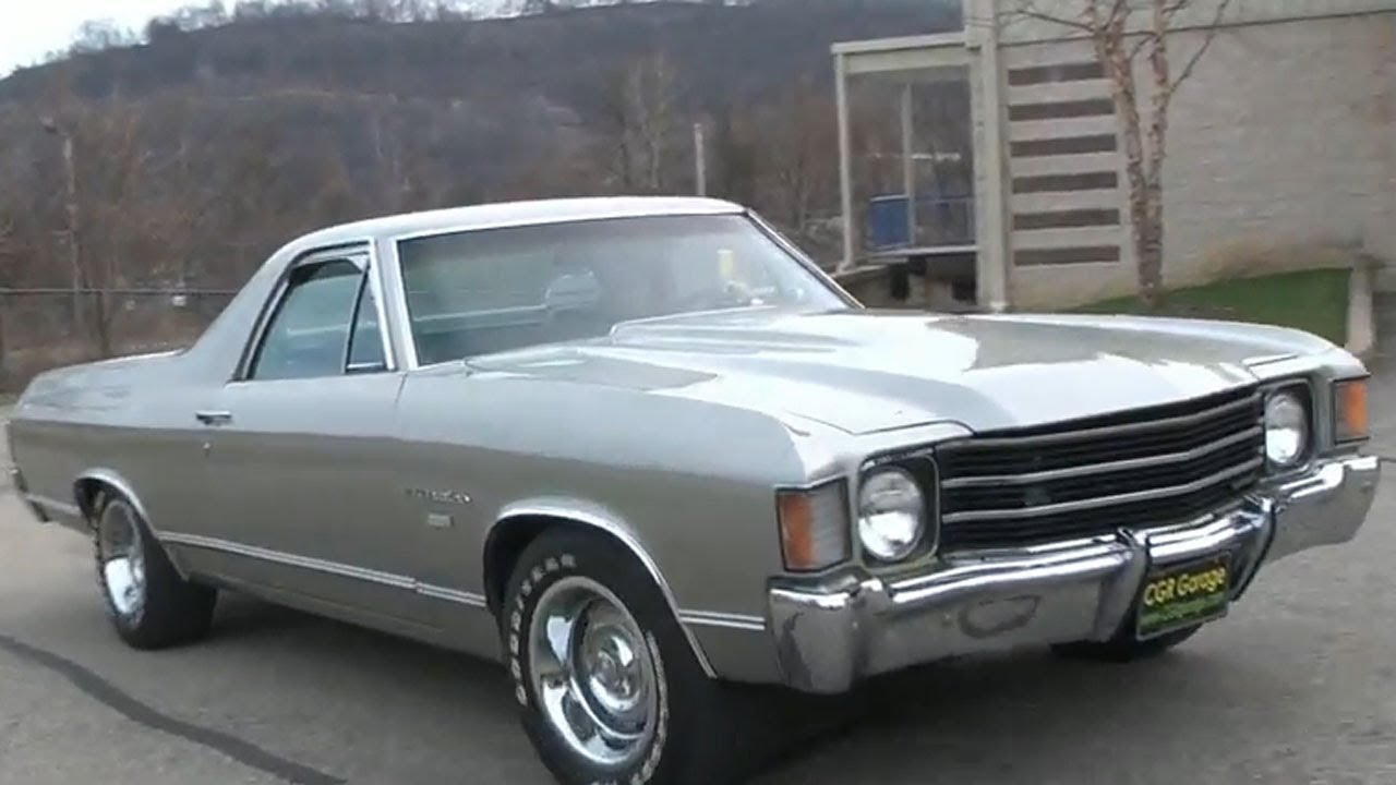 Cgr Garage Real 1972 El Camino Review Part 1 Youtube