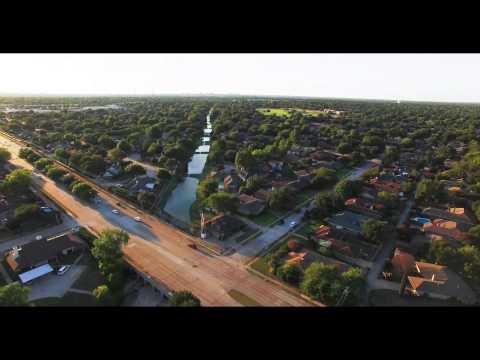 Plano Texas Aerial Video