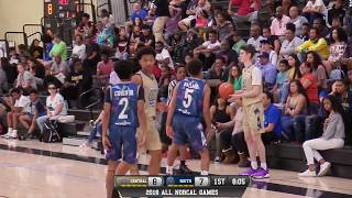 All norcal games boys high school central valley vs south valley all-star game live 4/1/18