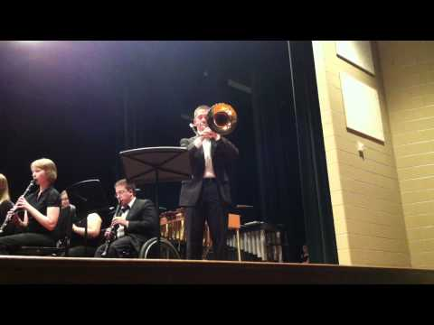 TLU Wind Ensemble - Variations on Barnacle Bill The Sailor