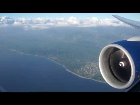 British Airways 777 - Flight 2263 - Approach And Landing Into Kingston Jamaica