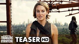 A Série Divergente: Convergente Teaser trailer dublado (2016) - Shailene Woodley [HD]