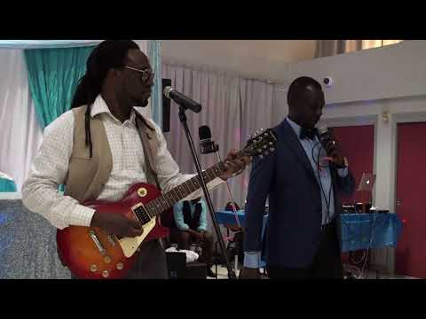 South Sudanese Artists David John & Papa Chol Live in their Welcoming party Oct 22, 2017