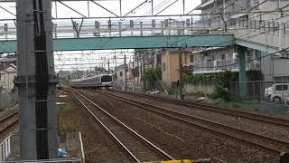 E531系 南柏駅通過&東京メトロ16000系 南柏駅到着