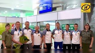 Белорусские армейские спортсмены вернулись с чемпионата мира по пятиборью с бронзовыми медалями