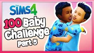 The Sims 4: 100 Baby Challenge with Toddlers - Part 5 - Our Second Baby!