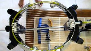 badminton racket stringing video tutorial