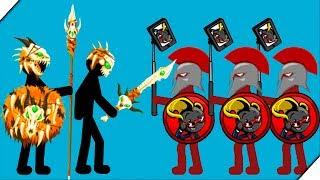 КОСТЯНАЯ АРМИЯ СТИКМЕНОВ - Stick War Legacy skins Tournament Mode HARD# 4