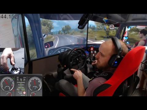 Euro Truck Simulator 2 - pro mods map+mods E33