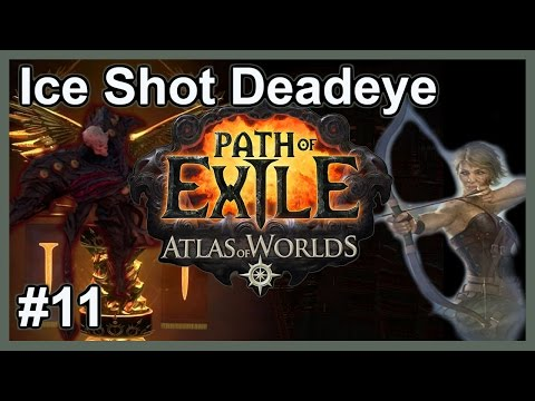 Let's Play Path of Exile: Ice Shot Deadeye #11 - HC SSF Lega