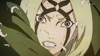 Tsunade Senju ¡Superhuman strength!