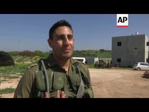 Israel Drills Officers For Fighting Hezbollah