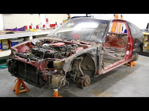 1990 Honda CRX Total Restoration Project