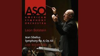 Sibelius:Symphony No. 4, Op.63: I. Tempo molto moderato, quasi adagio