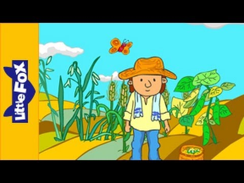 Oats, Peas, Beans and Barley Grow | Song for Kids by Little Fox