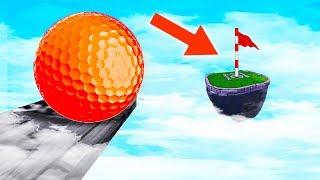 МЕГА СЛОЖНАЯ ЛУНКА! КАК Я ПОПАЛ С ПЕРВОГО РАЗА В ЛУНКУ НА БОЛЬШОМ РАССТОЯНИИ В ГОЛЬФ ИТ (Golf It)