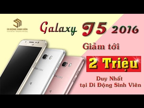 Mua Samsung Galaxy J5 uy tín rẻ nhất Hải Phòn