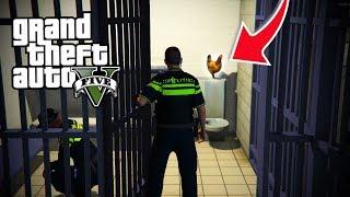 VERSTOPPEN IN HET POLITIE BUREAU!! - GTA V Hide & Seek