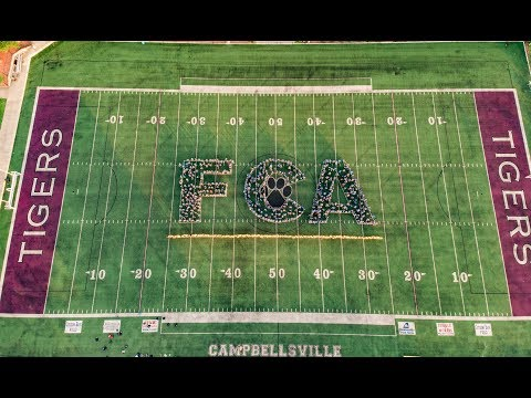 FCA 2018 Campbellsville University, KY (Fellowship of Christian Athletes)
