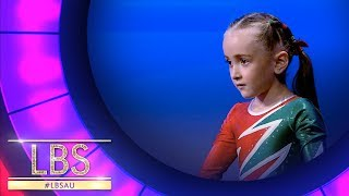 the most adorable 6 year old gymnast   little big shots australia