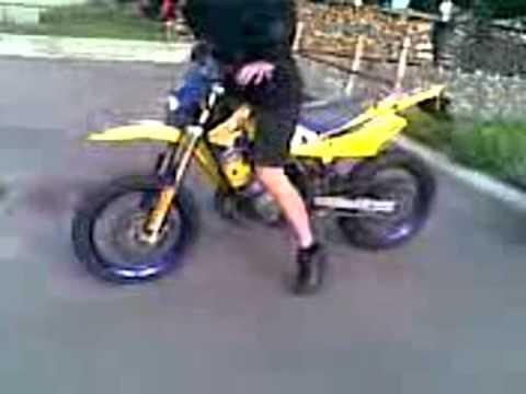 CH-Racing 50 cc burnout