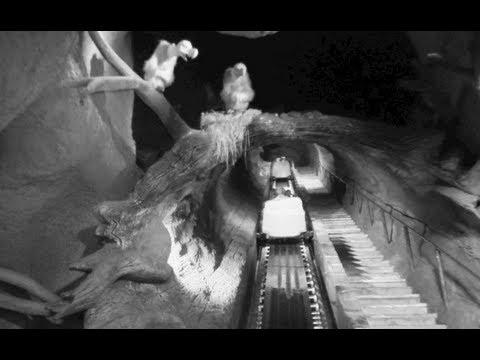 Splash Mountain - Night Vision (HD POV : Full Ride) - Disneyland Resort California