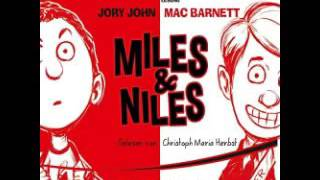 Miles & Niles  Hirnzellen im Hinterhalt   Hörbuch von Mac Barnett, Jory John