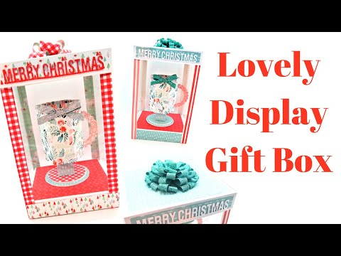 Lovely Display Gift Box | Brilliant Craft Fair Idea | Original Design