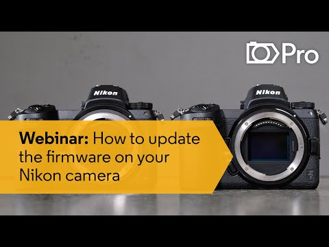 PHOTOGRAPHY WEBINAR: How To Update The Firmware On Your Nikon Camera | CameraPro Australia