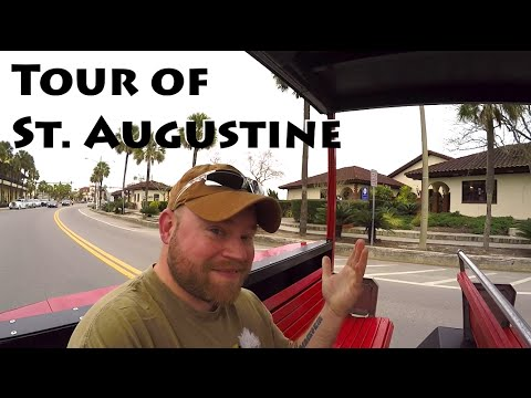 Red Train Tour of St. Augustine
