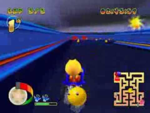 Pac-Man World Rally Music Swap #16 - Retro Maze
