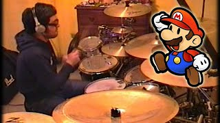 Vadrum Meets Super Mario Bros (Drum Video)
