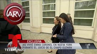 Así vivió Emma Coronel en NY durante el juicio de El Chapo | Al Rojo Vivo | Telemundo
