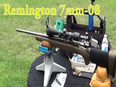 Remington 7mm 08 100 yard 10 shot accuracy test