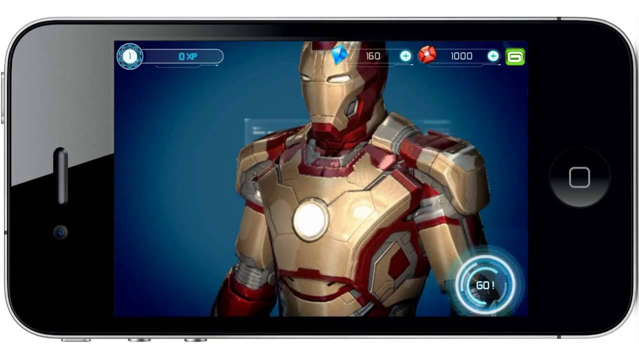 test du jeu iron man 3 by gameloft sur iphone 4s