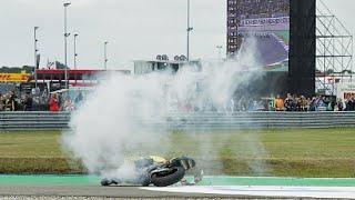 Luis salom crash Assen 2015