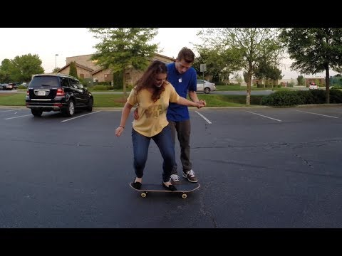 TEACHING GRAY HOW TO OLLIE