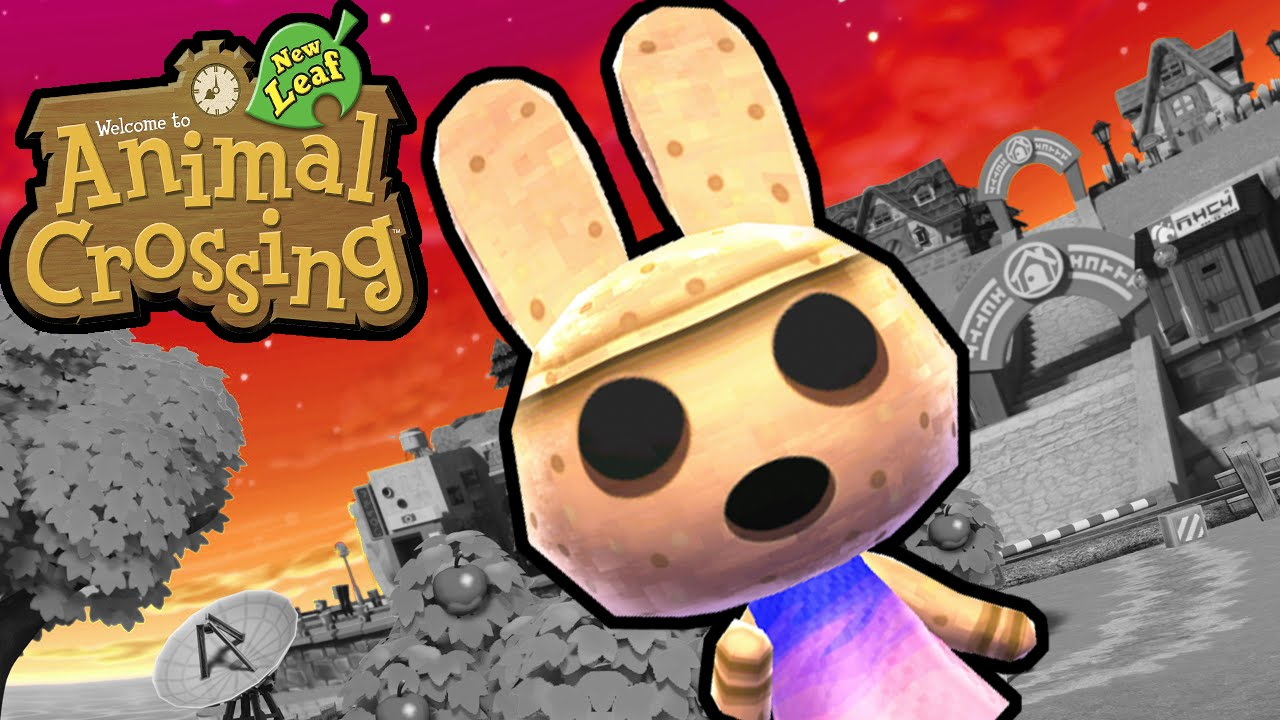animal crossing new leaf 3ds creepy coco the bunny gameplay