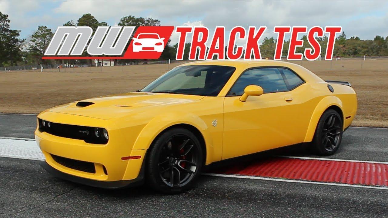 Dodge Challenger Srt Hellcat Widebody Track Test