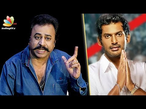 Nadigar Sangam doesn't mean ONLY Vishal : Ponvannan Speech on Resignation