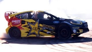 Hot Rods, Muscle Cars & Drifting with Tanner Foust! - 2013 SEMA Week Ep. 1