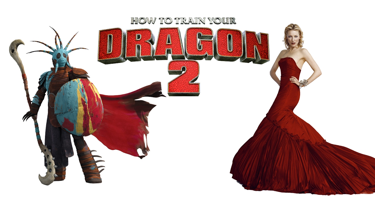 How To Train Your Dragon 2 Voice Behind The Characters Youtube