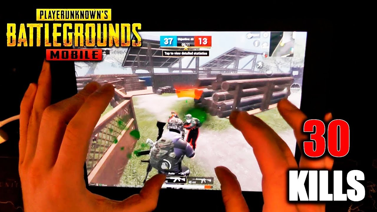 PUBG Mobile Record 30 Kills. HandCam Gameplay
