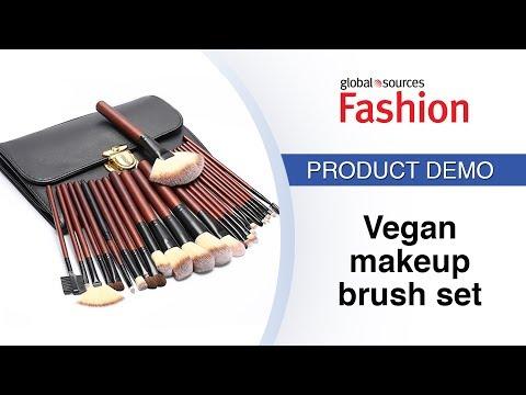 Vegan makeup brush set - Global Sources Fashion