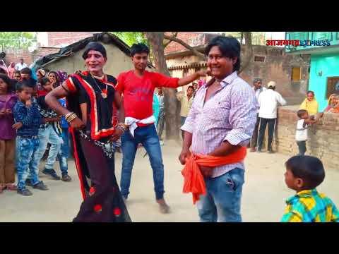 समर सिंह के हिट सांग पर देसी लवंडा डांस | Gurahi Jalebi Bichay Piya Melwa Me (Hard Bhojpuri DJ Mix)