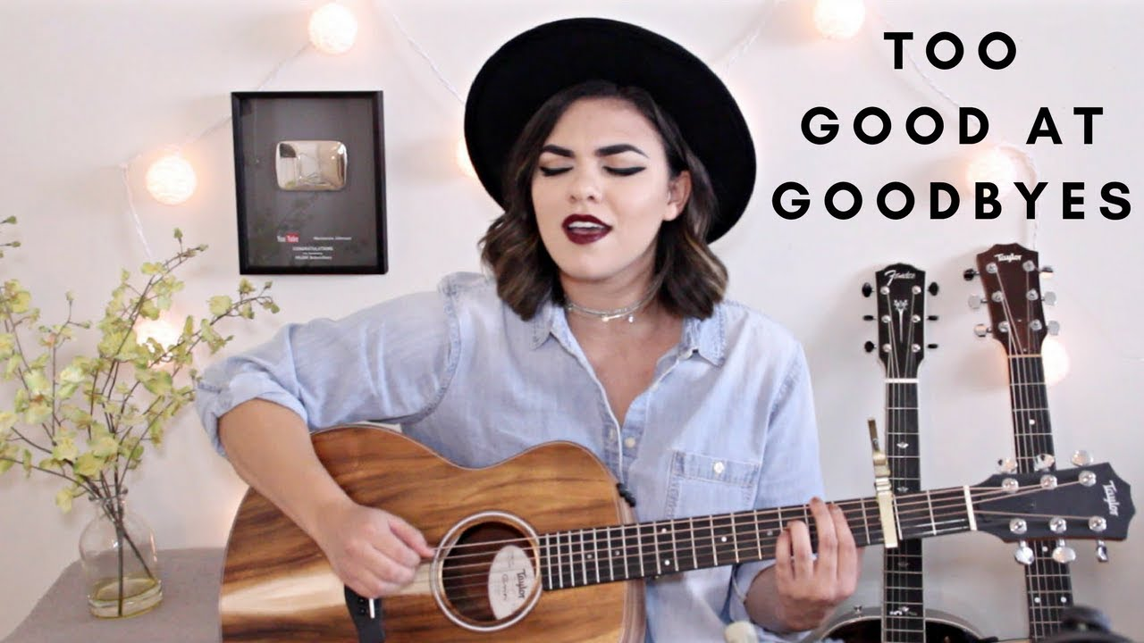 Too Good At Goodbyes Sam Smith Cover