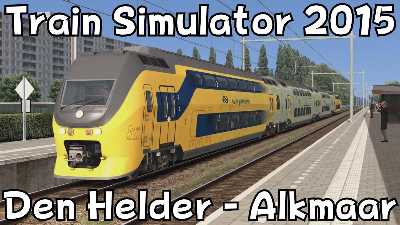 Driving Simulator Online >> Train Simulator 2015: Den Helder - Alkmaar with ChrisTrains Groene NS VIRM - YouTube