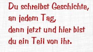 Du schreibst Geschichte - Madsen (+Lyrics)