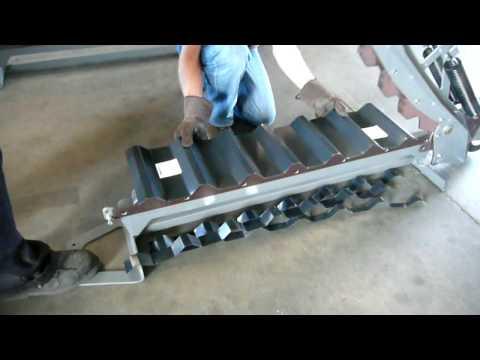 Swenson Shear Cutting Sheet Metal Youtube